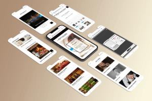 schermate smartphone Orizzonte sito