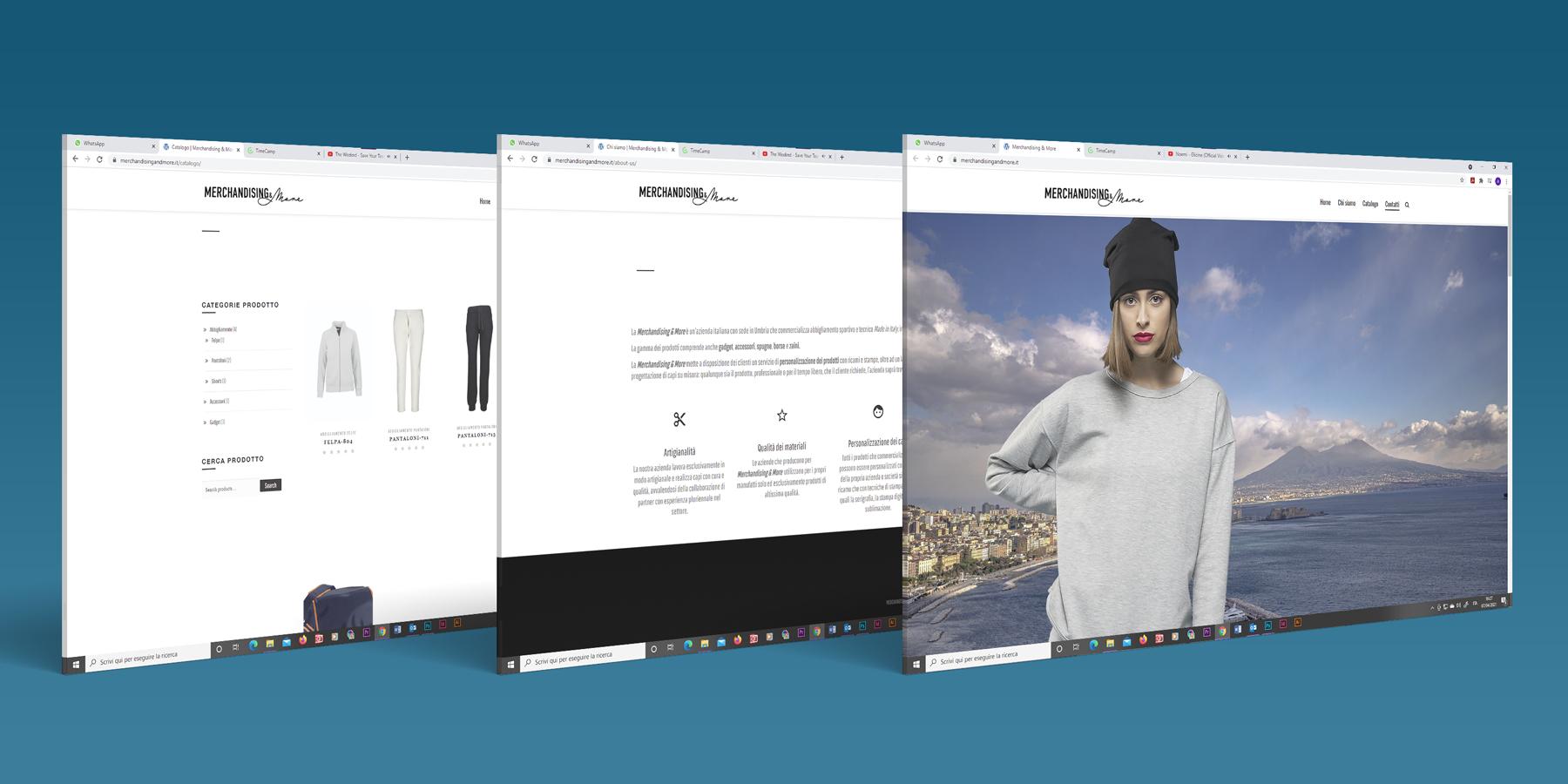 Merchandising and more - screen