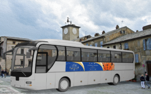 Banner autobus Orvieto