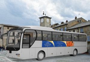 Banner Orvieto per autobus